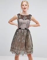 Little Mistress Embroidery Prom Dress