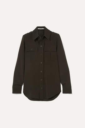 Stella McCartney Wool-twill Shirt - Army green