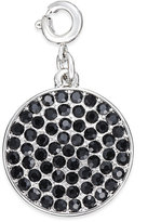 INC International Concepts Silver-Tone Crystal Disc Charm, Only at Macy's
