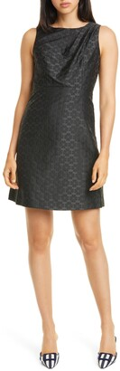 Kate Spade Floral Spade Jacquard Dress