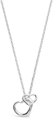 Sterling Forever Sterling Silver Heart Charm Necklace