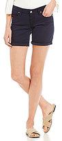 Big Star Remy Rolled Cuff Stretch Denim Shorts