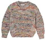 Acne Studios White Mix Mini Zora Sweater