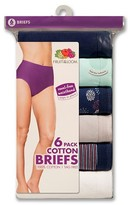 Fruit of the Loom Women's Assorted Brief 6-Pack - Multicolored