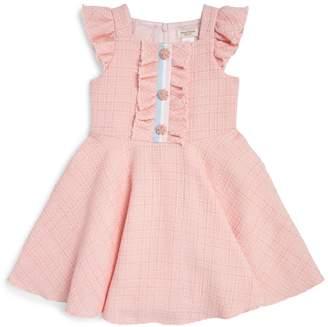 David Charles Tweed Knitted Dress