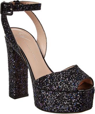 Giuseppe Zanotti Glitter Platform Sandal