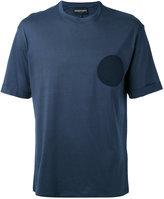 Emporio Armani logo patch T-shirt