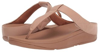 FitFlop Mina Toe-Thong (Beechwood) Women's Shoes