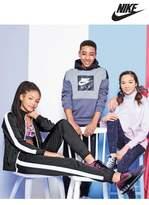 Next Girls Nike Tricot Black Tracksuit - Black