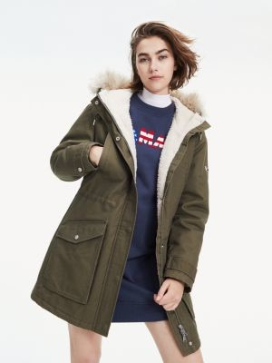 Tommy Hilfiger Essential Lined Cotton Parka