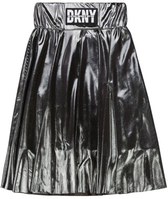 DKNY Logo Pleated Skirt (6-16 Years)