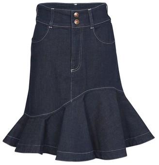 See by Chloe Short ruffle skirt