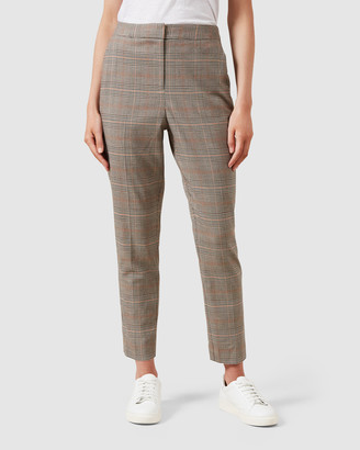French Connection Check Tailored Pant