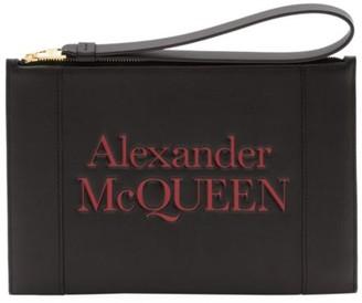 Alexander McQueen Signature Logo Zipper Pouch