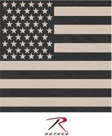Rothco Subdued US Flag Bandana,