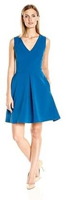 Adelyn Rae Women's Pleat Front Dress