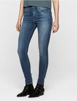 Calvin Klein Sculpted Tidal Blue Skinny Jeans