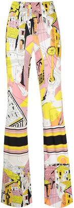 Emilio Pucci Battistero printed trousers