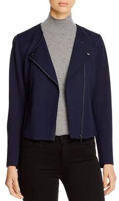 Bagatelle Ponte Knit Moto Jacket