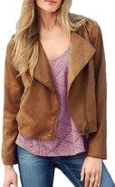 YACUN Women's Long Sleeve Zipped Casual Jacket M
