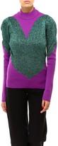 GCDS Turtleneck Heart Sweater