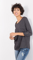 Esprit EDC - top with turn-up sleeves