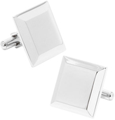 Ox & Bull Trading Co. Men's Stainless Steel Engravable Staged Cufflinks