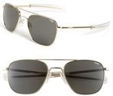 Randolph Engineering Men's 55Mm Aviator Sunglasses - Gold