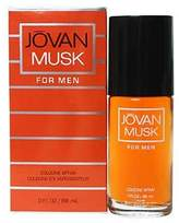 Jovan Musk Cologne by Coty for Men. Cologne Spray 3.0 Oz / 88 Ml.