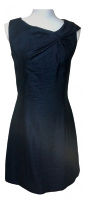 Louis Vuitton Navy Wool Dresses