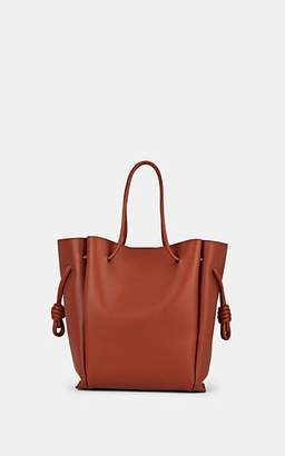 Loewe Women's Flamenco Knot Medium Leather Tote Bag - Rust