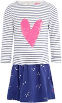 Joules Girls Sequin Heart Dress