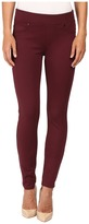 Liverpool Quinn Pull-On Leggings in Port Wine