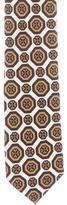 Prada Tile Print Silk Tie