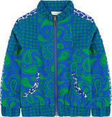 Stella McCartney Printed bomber jacket