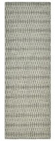 """Solo Rugs Runner Deanna Geometric Hand-Knotted Gray Area Rug Rug Size: Runner 2'6"""" x 10'"""