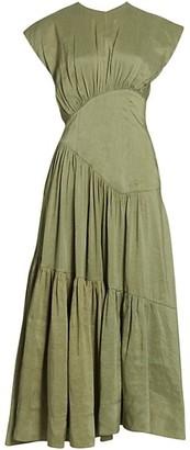 Aje Reflection Midi Dress
