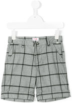 Il Gufo checked bermuda short