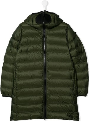 AI Riders On The Storm zipped padded jacket