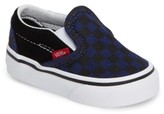Vans Infant Boy's 'Classic - Checkerboard' Slip-On