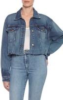 Joe's Jeans Women's Taylor Hill X Dolman Crop Denim Jacket