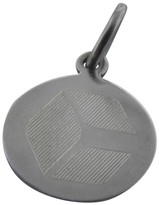 Tiffany & Co. 925 Sterling Silver Round Tag Charm Pendant