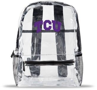 clear TCU Horned Frogs Team Logo School Bag