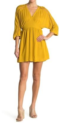 BB Dakota Wishful Thinking V-Neck Dress