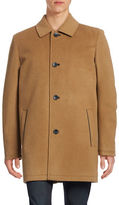 Vince Camuto Laminated Wool-Blend Thinsulate Coat