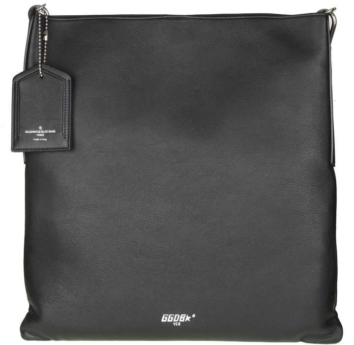 Golden Goose Shopping Bag Hobo In Leather Color Black