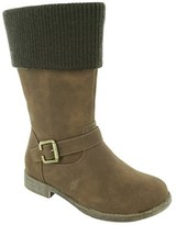 Jumping Jacks Girl's 'Breanna' Knit Cuff Boot