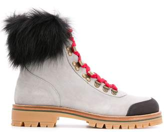 Mr & Mrs Italy Pedules chunky-sole ankle boots