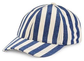 MARCUS ADLER Striped Baseball Cap
