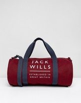 Jack Wills Logo Gym Bag